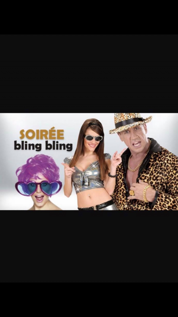SOIREE BLING BLING